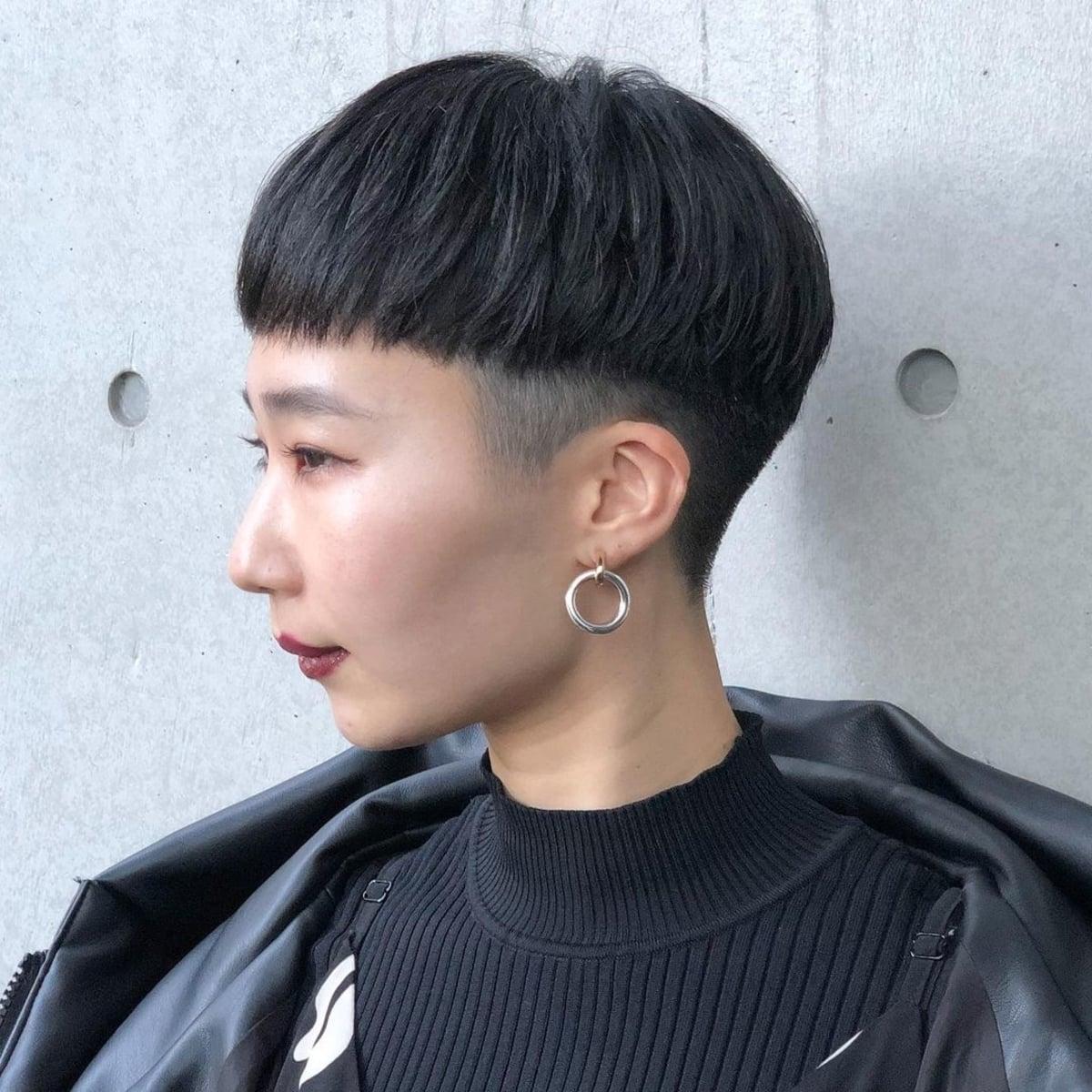 Coupe de cheveux coréenne pour les filles