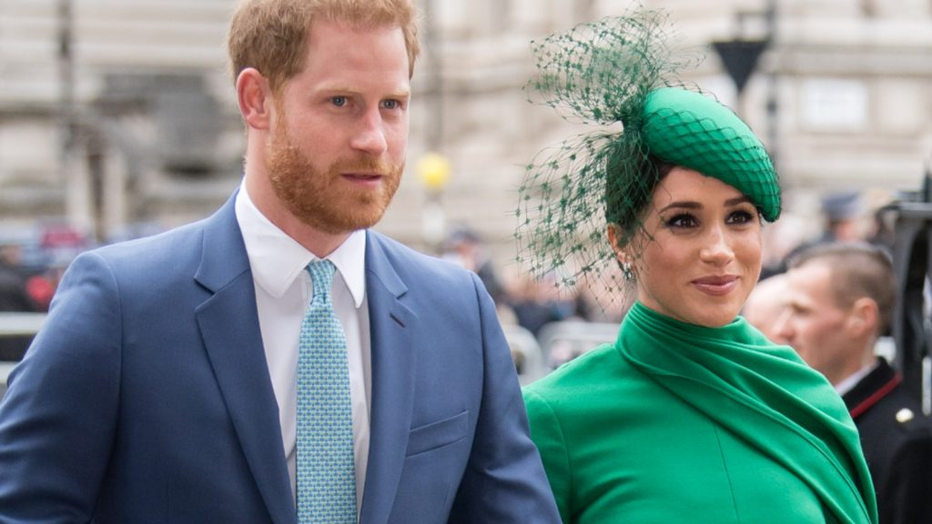 Le Prince Harry, Duc de Sussex et Meghan, Duchesse de Sussex assistent au Commonwealth Day Service 2020 le 09 mars 2020 à Londres, Angleterre.