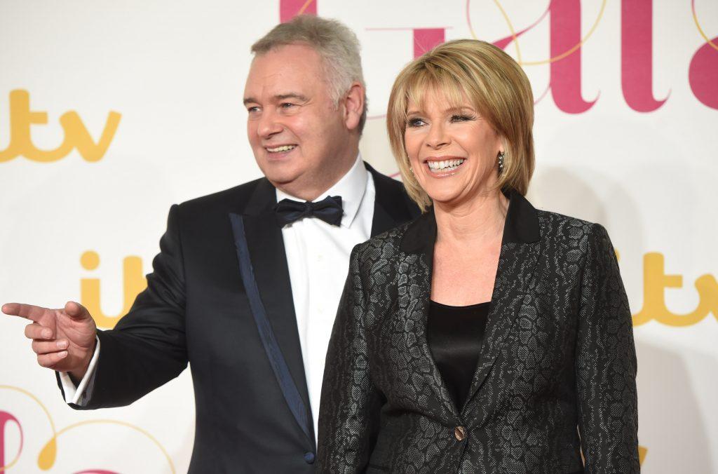 Eamonn Holmes et Ruth Langsford assistent au gala ITV au Palladium de Londres, le 19 novembre 2015.