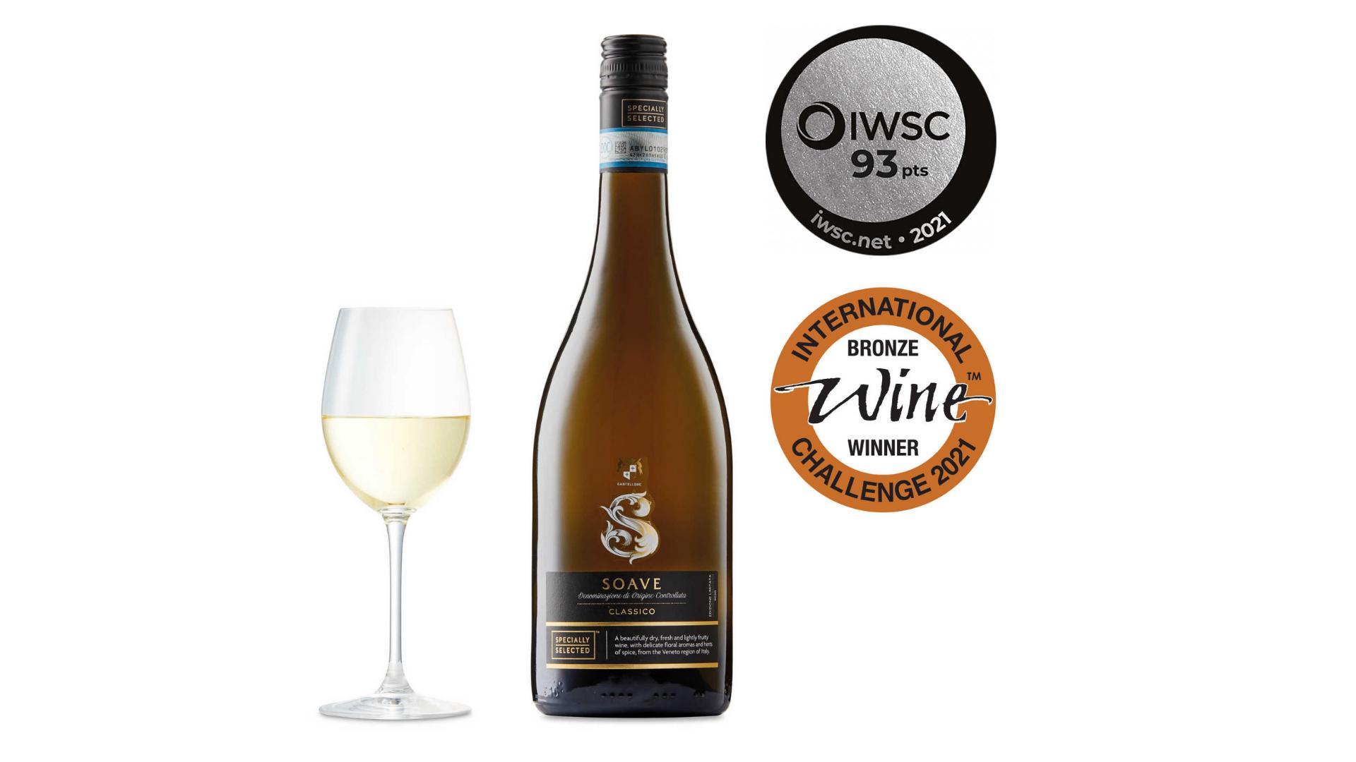 l'un des meilleurs vins bon marché - Specially Selected Italian Soave