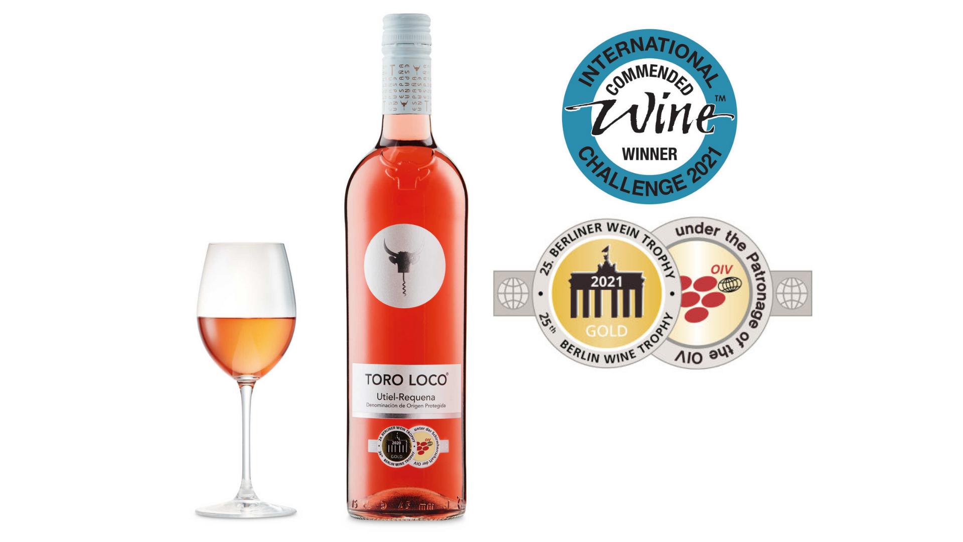 l'un des meilleurs vins bon marché - toro loco rose