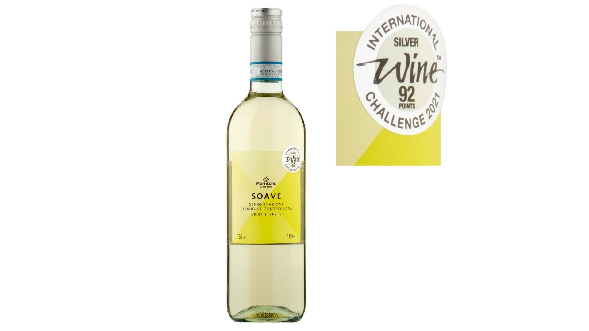 l'un des meilleurs vins bon marché - Morrisons Soave