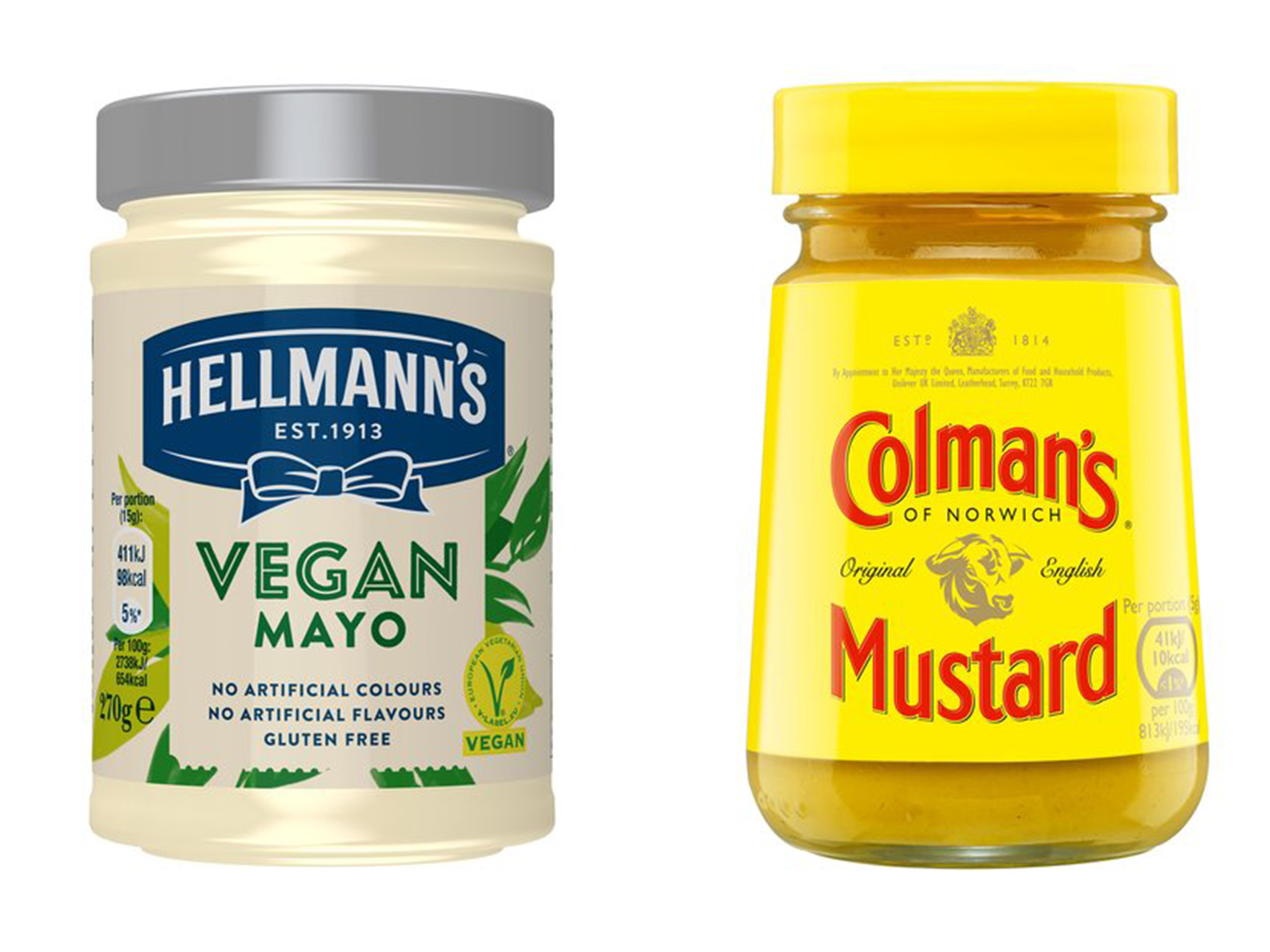 Condiments pour végétaliens