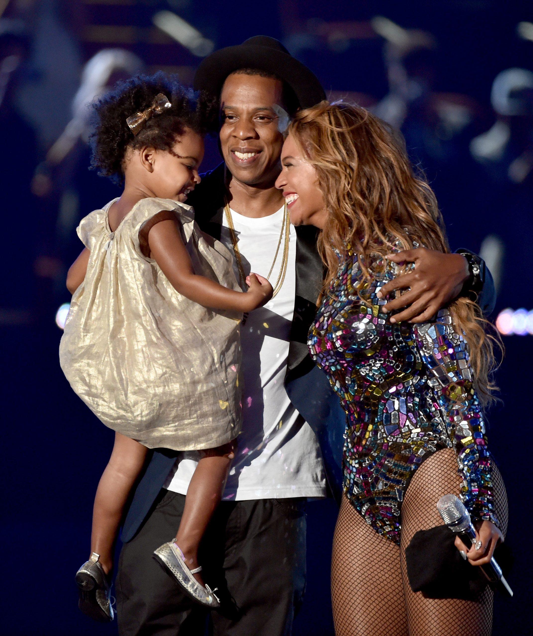 Beyonce, Jay-z et Blue Ivy