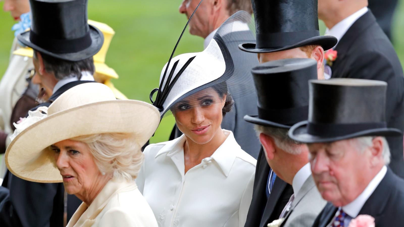 Meghan Markle, Duchess Camilla, Prince Harry, Prince Charles