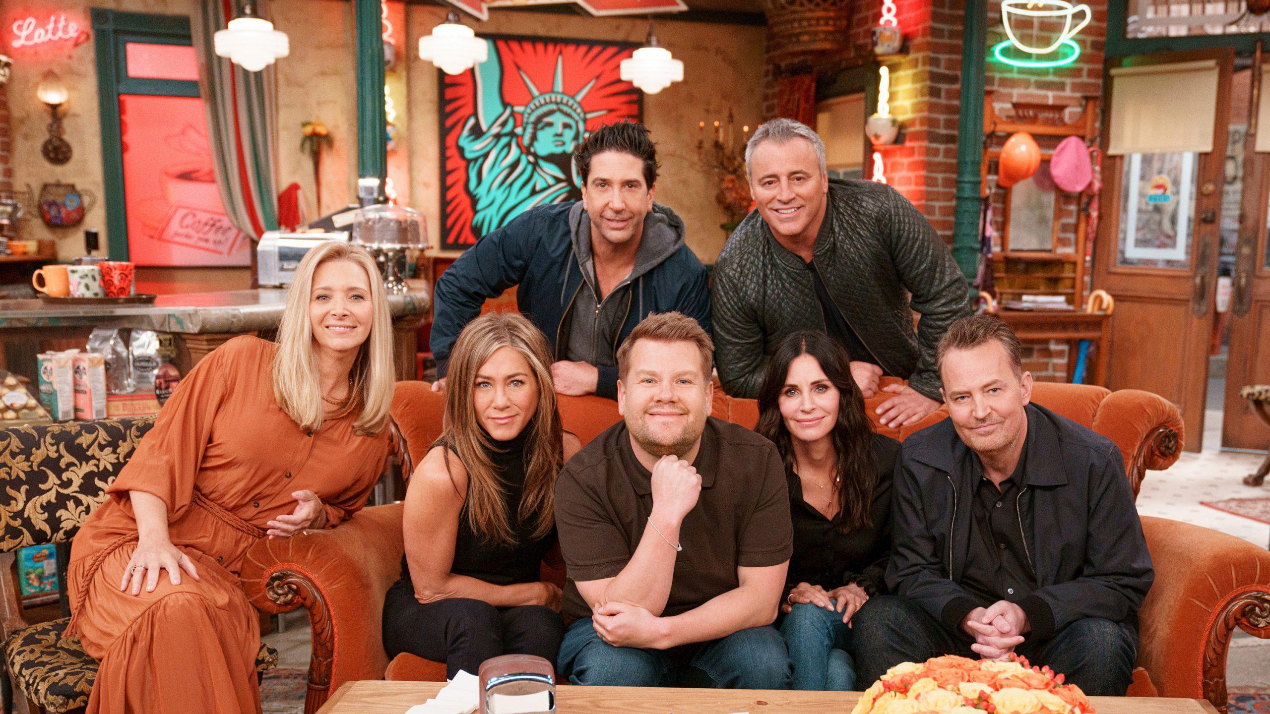 Jennifer Aniston et le casting de Friends,