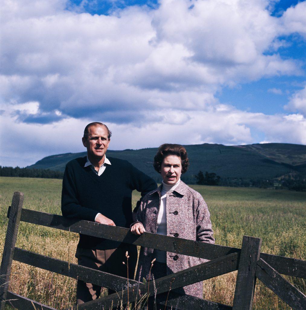 La reine Elizabeth II et le prince Philip à Balmoral, en Écosse