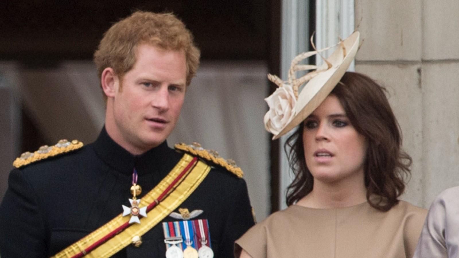 Le Prince Harry et la Princesse Eugénie