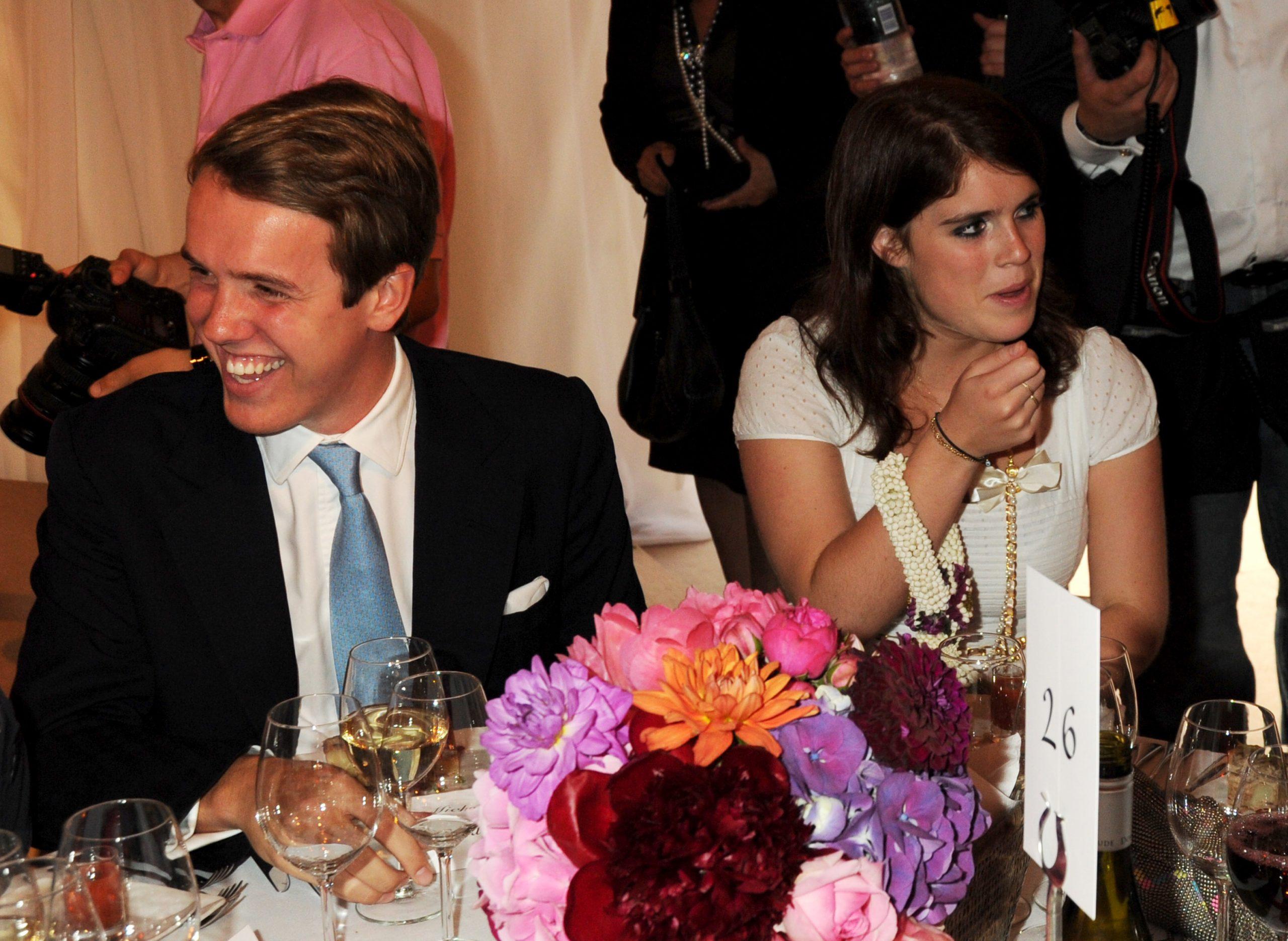 La Princesse Eugénie et Jack Brooksbank