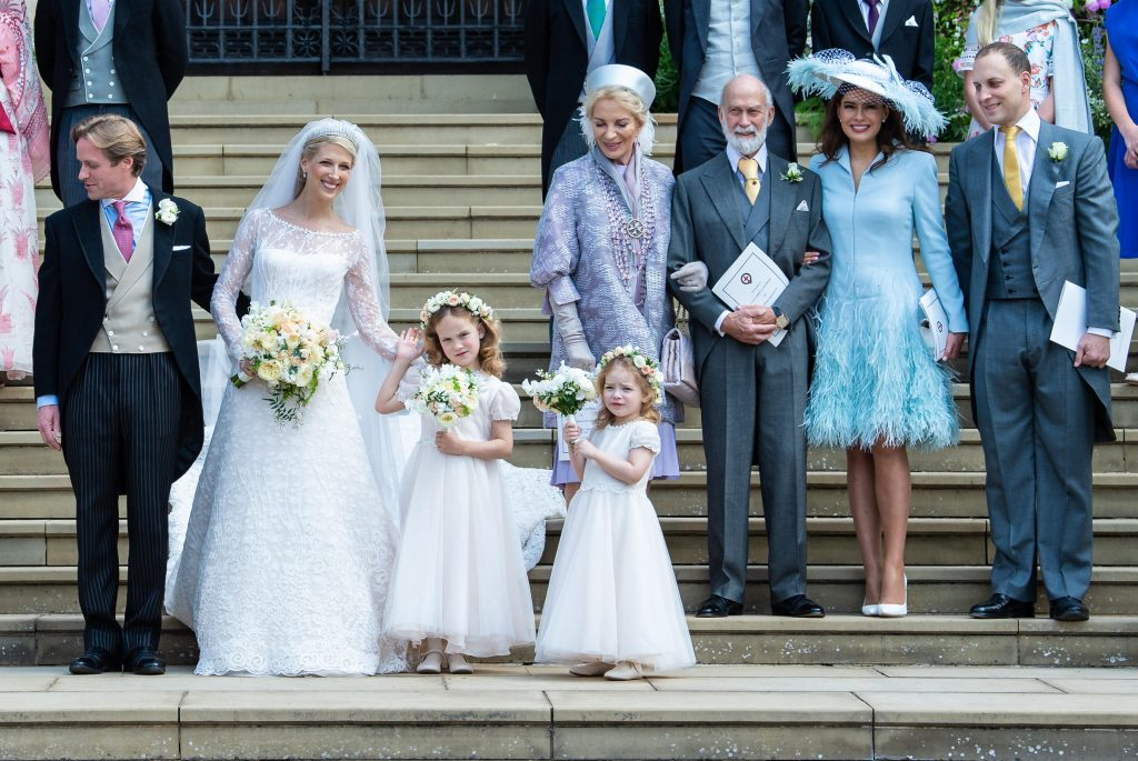 Le mariage de Lady Gabriella Windsor et Thomas Kingston à la chapelle Saint-Georges.