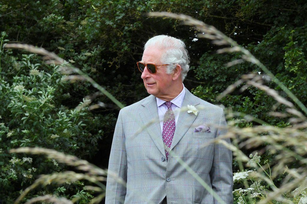 Le Prince Charles, Prince de Galles, lors d'une visite de FarmED le 22 juin 2021 à Chipping Norton.