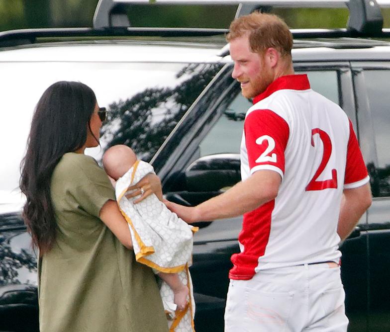Le Prince Harry, Meghan Markle et Archie