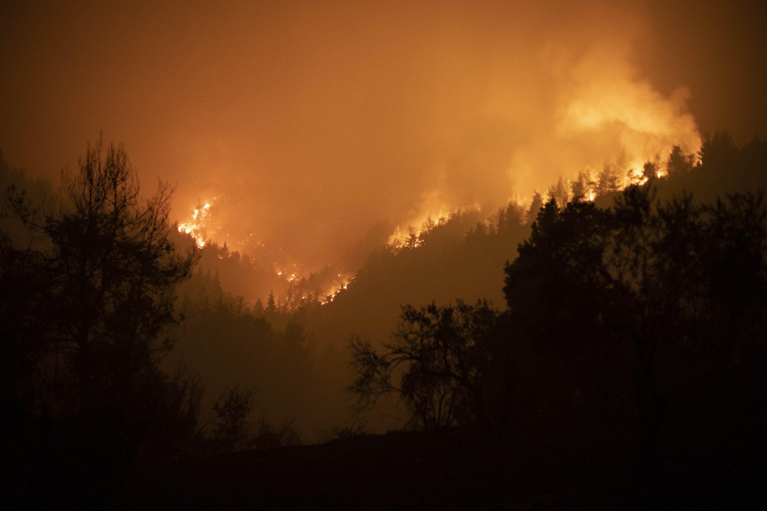 Incendies en Grèce, le Prince Charles fait un don