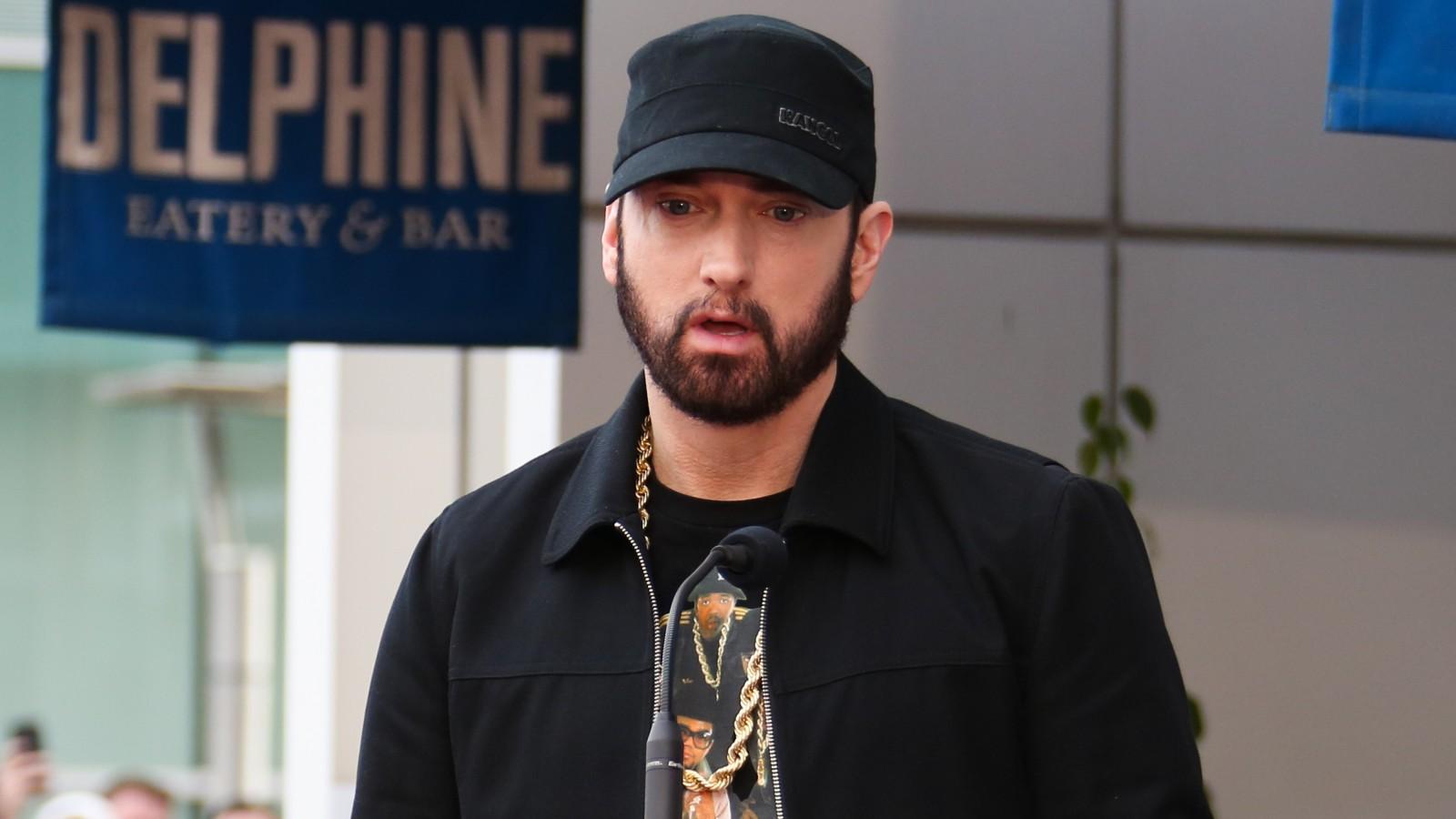 Eminem, Stevie, l'enfant adopté d'Eminem.