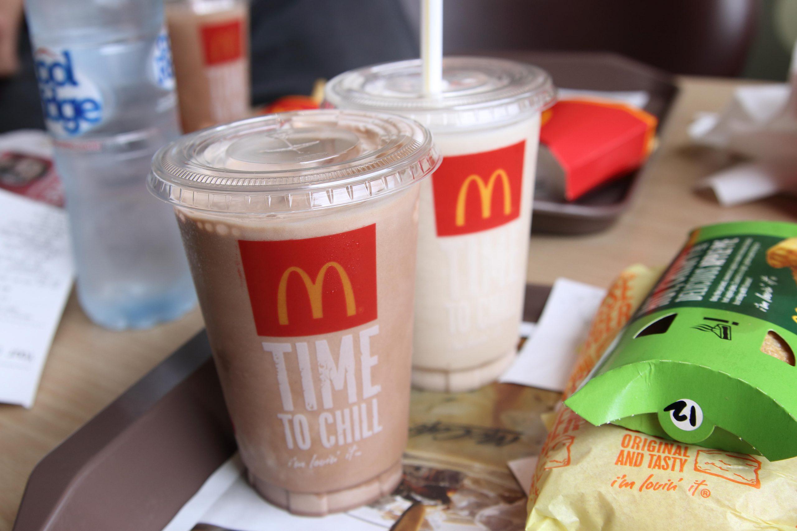 Pénurie de milkshakes chez McDonald's