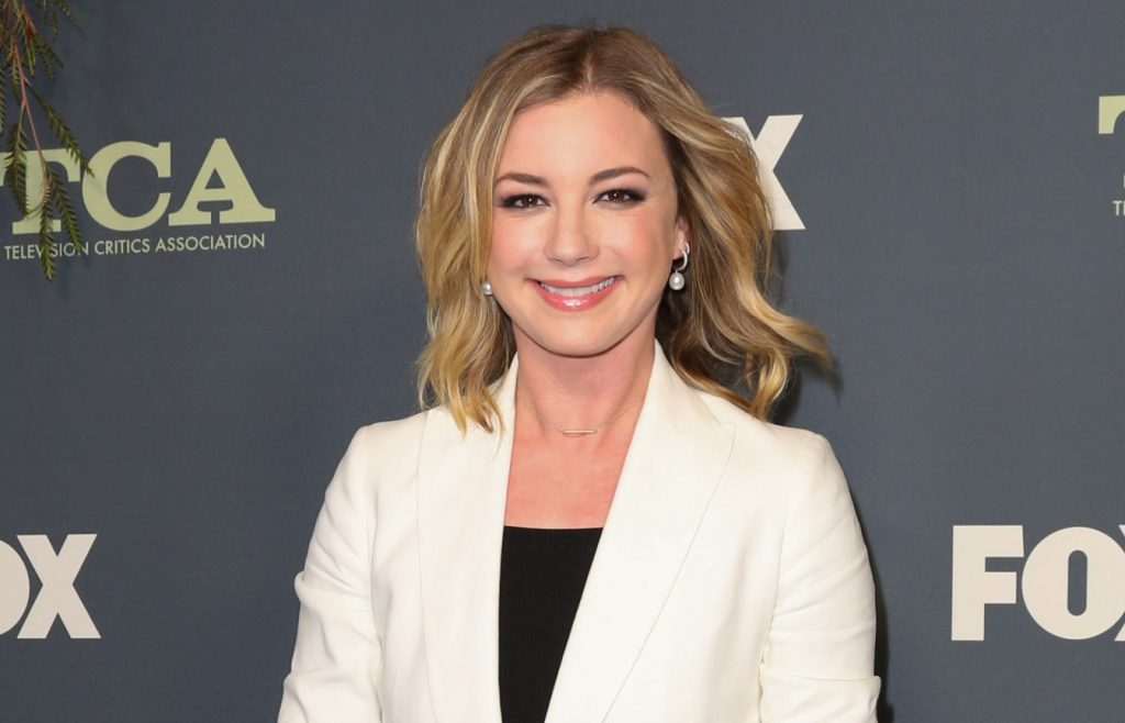 Emily VanCamp assiste au FOX Winter TCA Tour 2019