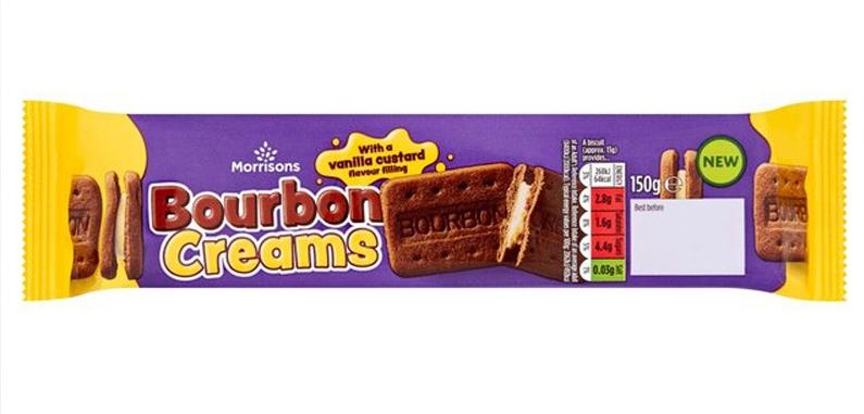 Crèmes pâtissières Bourbon Morrisons