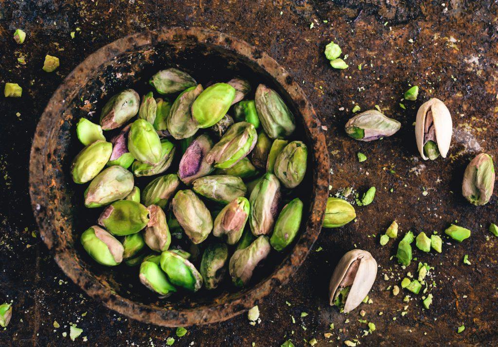 Les pistaches sont un exemple d'aliments aphrodisiaques.