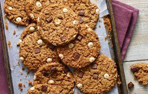Biscuits faits avec de la poudre à pâte