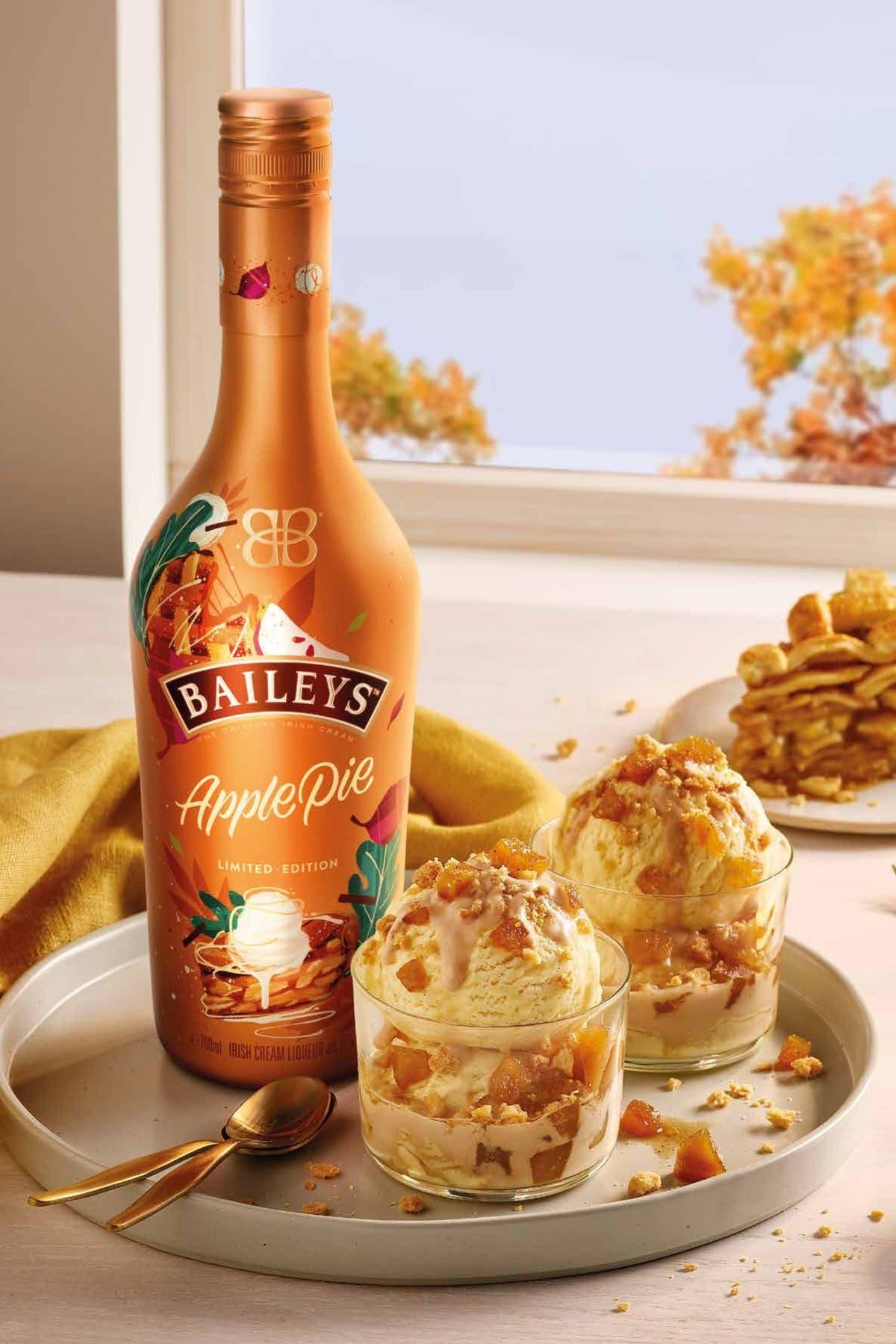 Tarte aux pommes Baileys