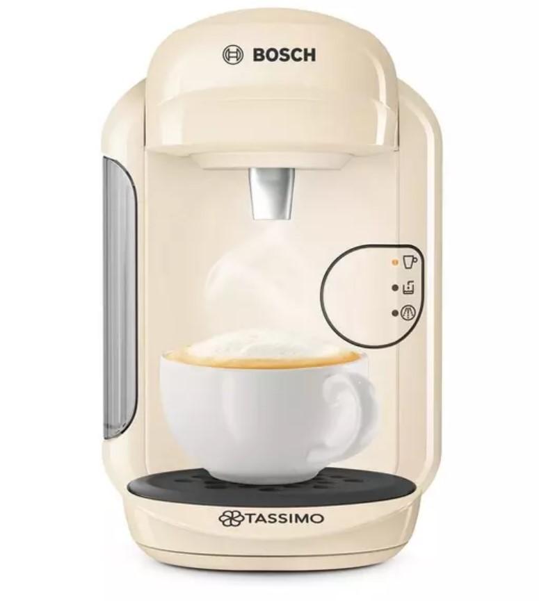 Machine à café à dosettes Tassimo TAS1407GB Vivy en crème
