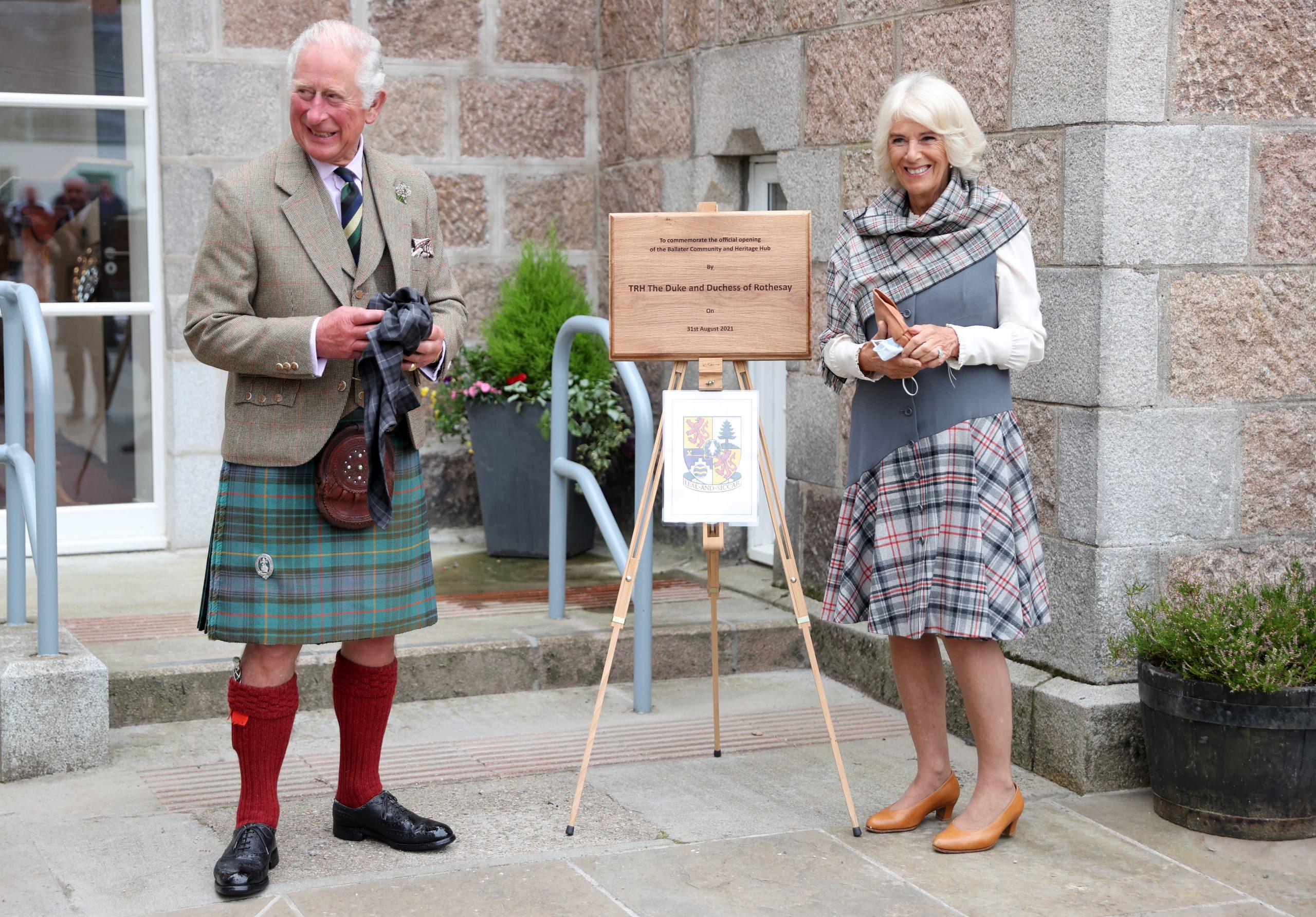 Le Prince Charles et la Duchesse Camilla