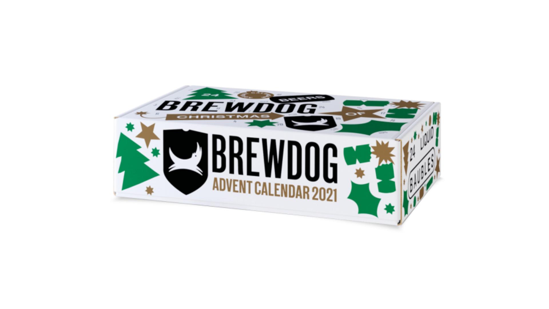 Brewdog calendrier de l'avent 2021
