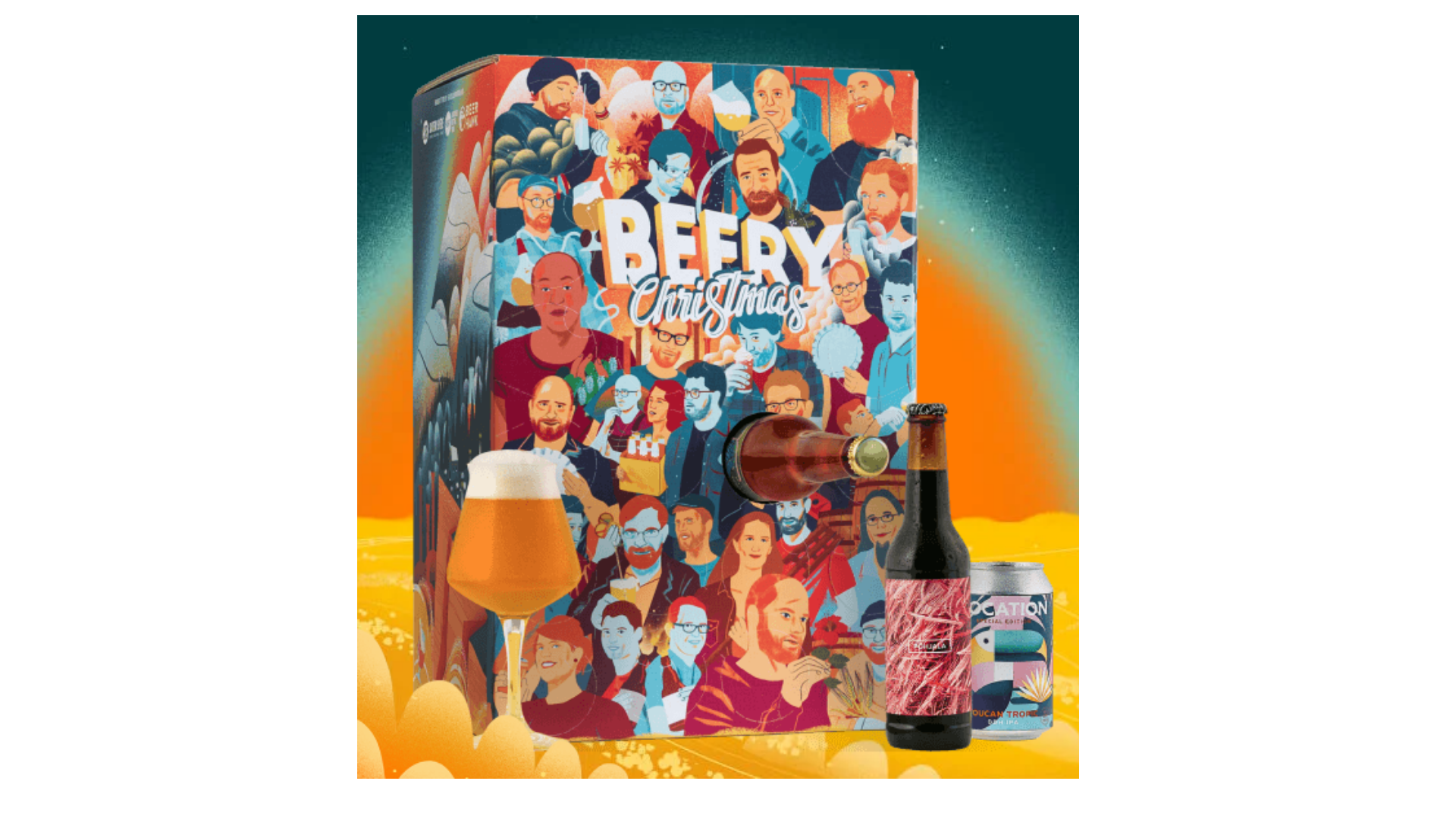 Calendrier de l'avent Beer Hawk 2021