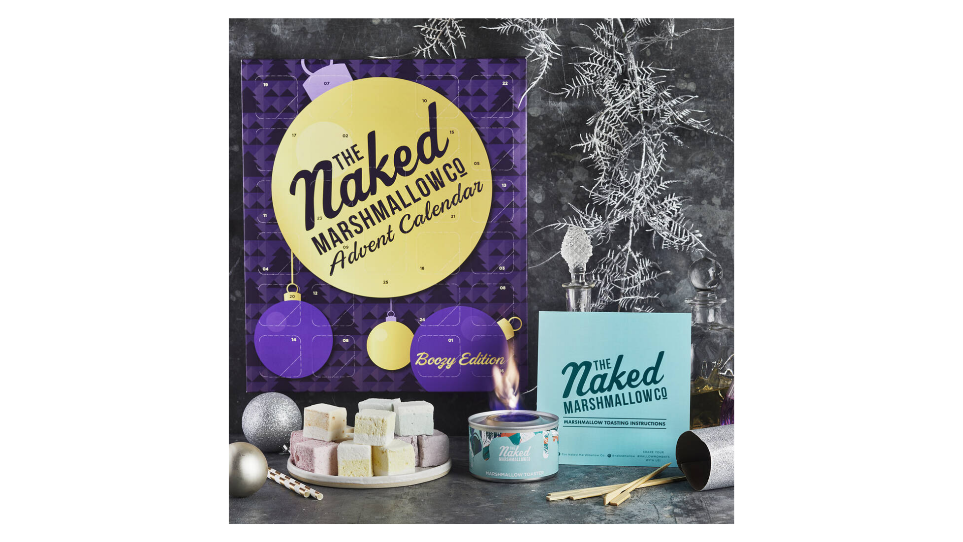 Calendrier de l'avent Naked Marshmallow 2021