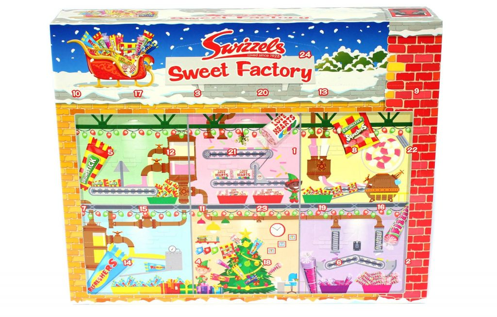 Calendrier de l'Avent Swizzels Sweet Factory