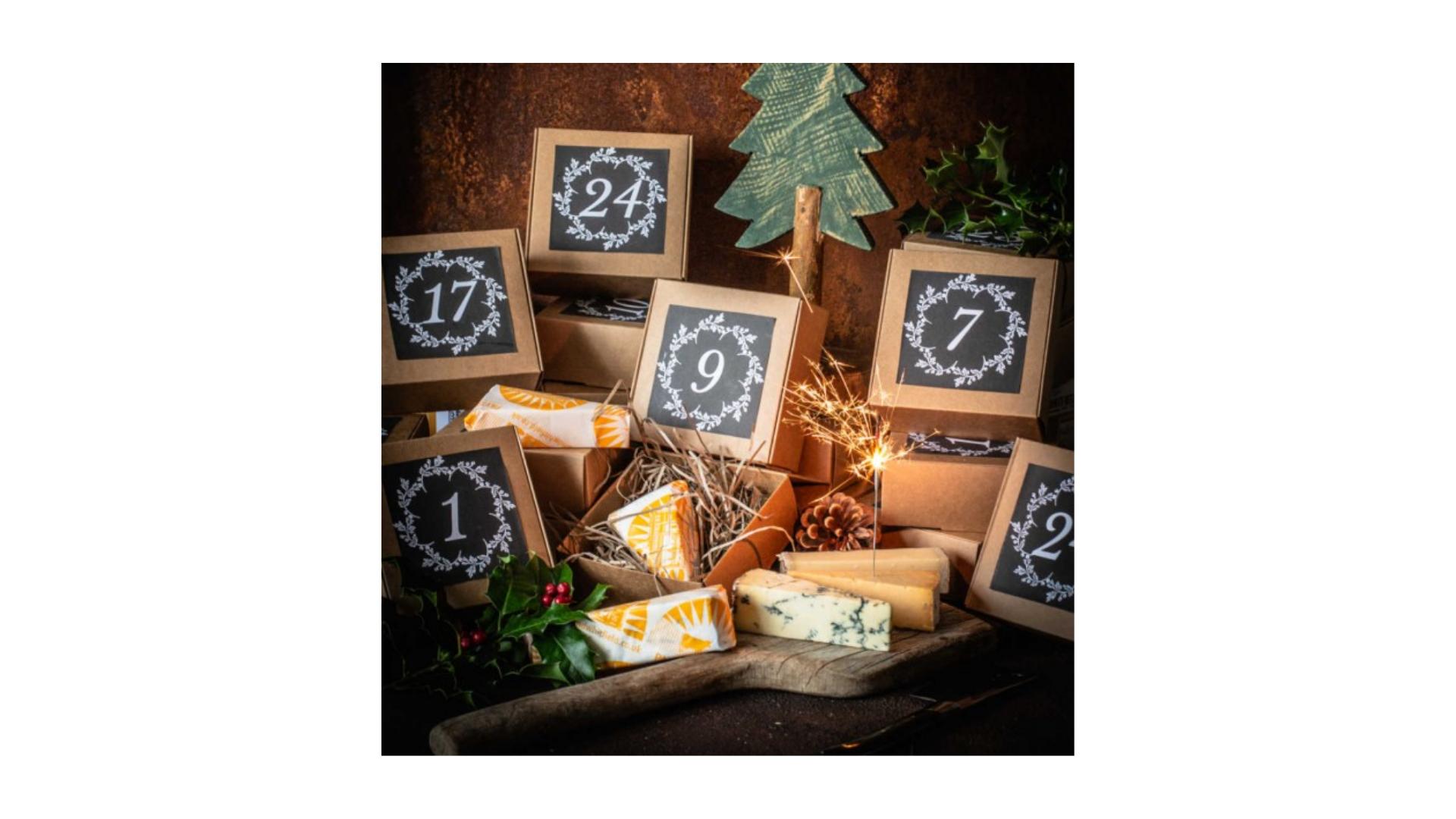 Calendrier de l'avent au fromage 2021