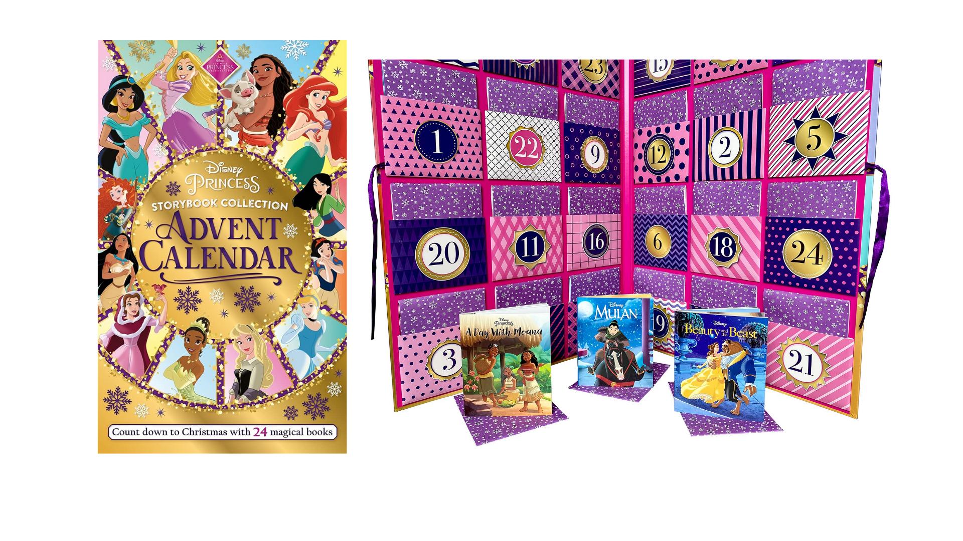 Calendrier de l'avent Disney Princesse Livre 2021