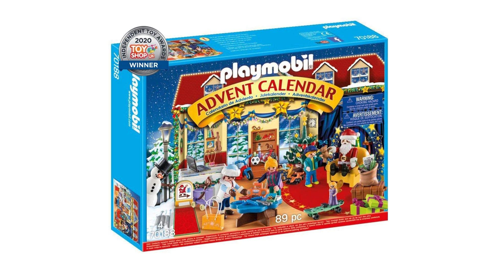 Calendrier de l'avent Playmobil Christmas toyshop 2021
