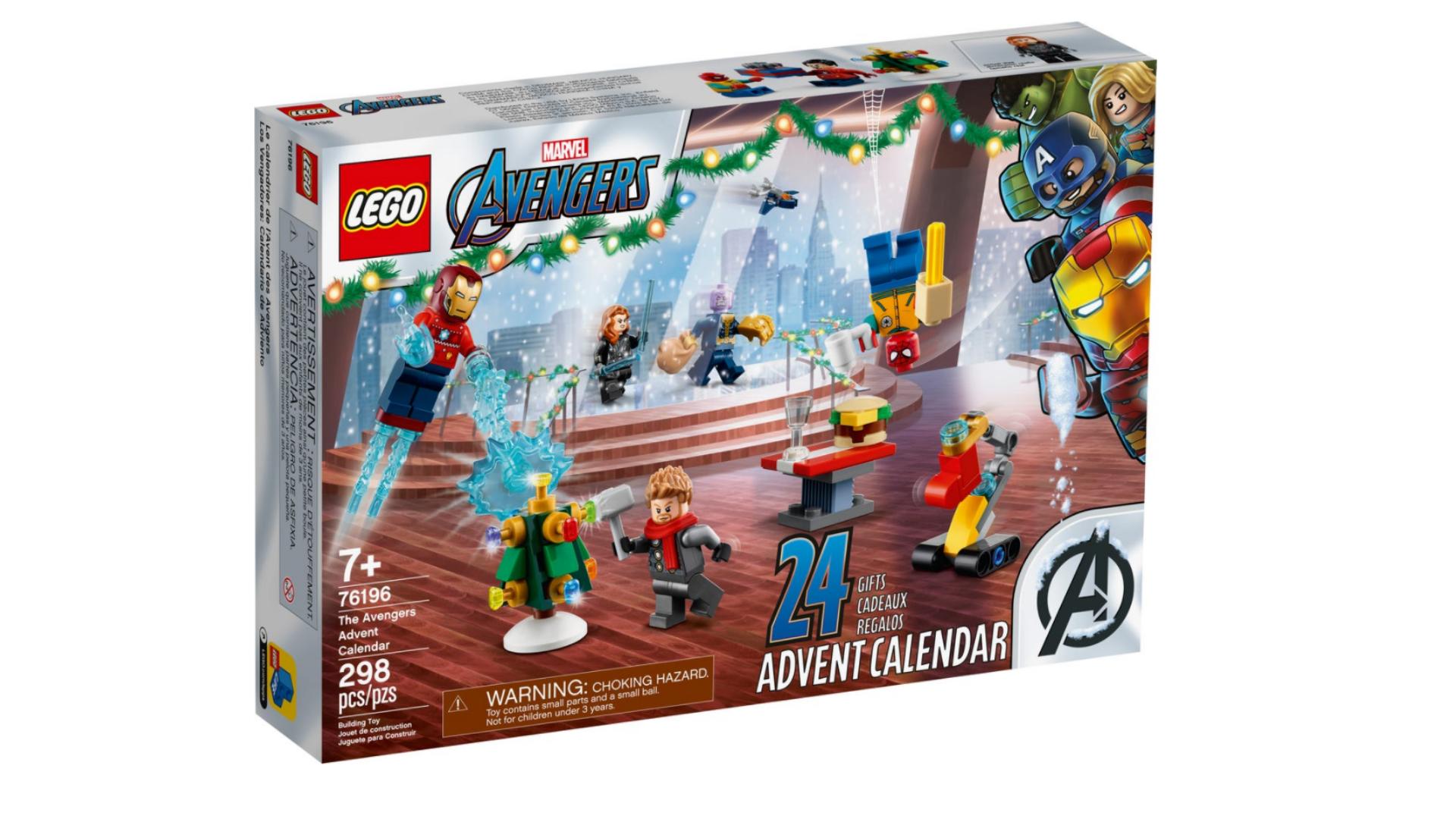 LEGO Marvel calendrier de l'avent 2021