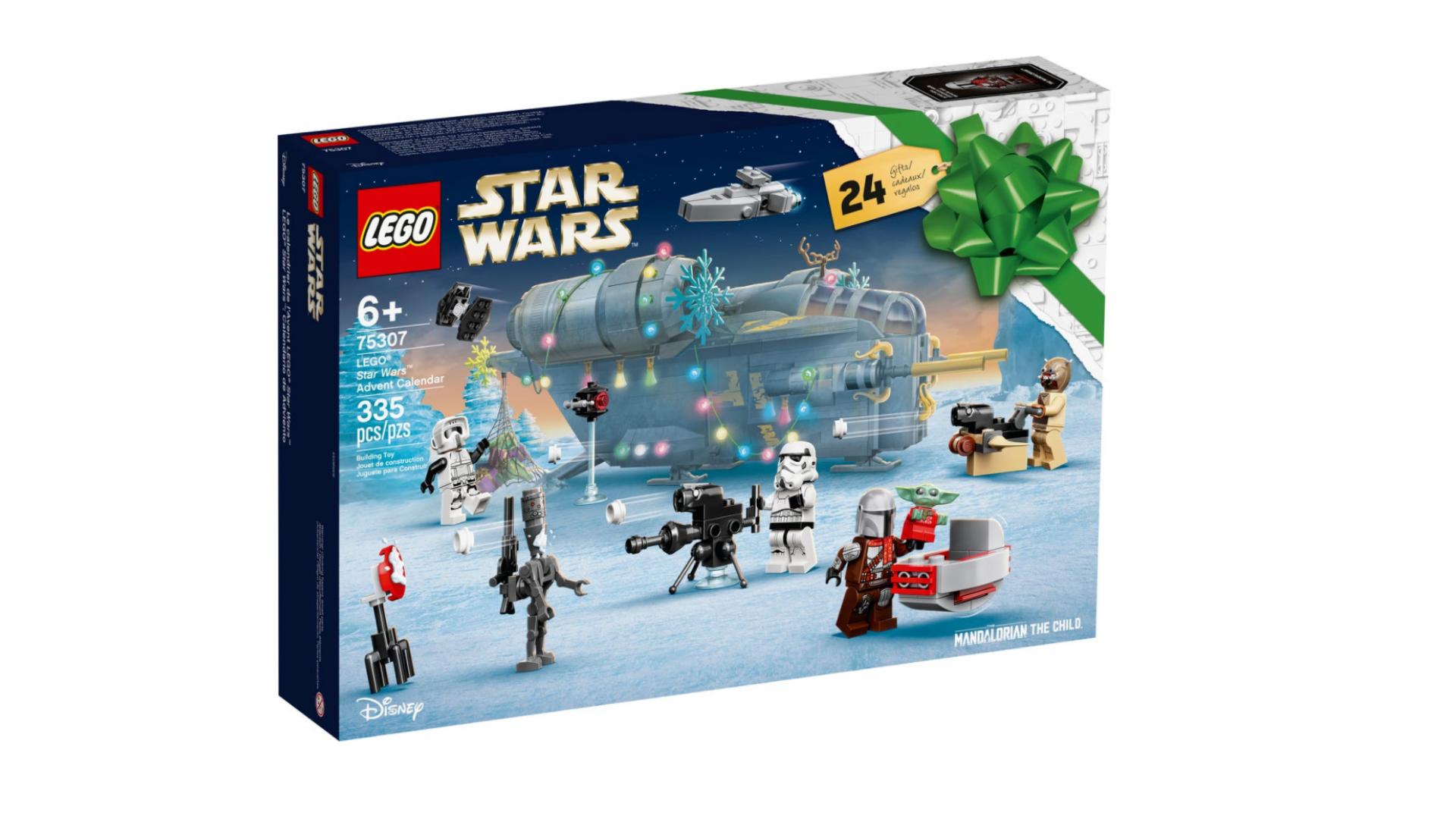Calendrier de l'avent LEGO Star Wars 2021