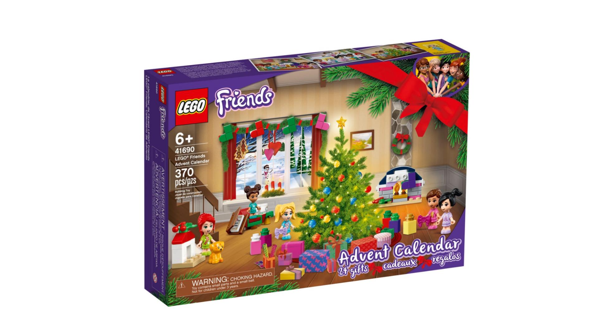 Calendrier de l'avent LEGO Friends 2021
