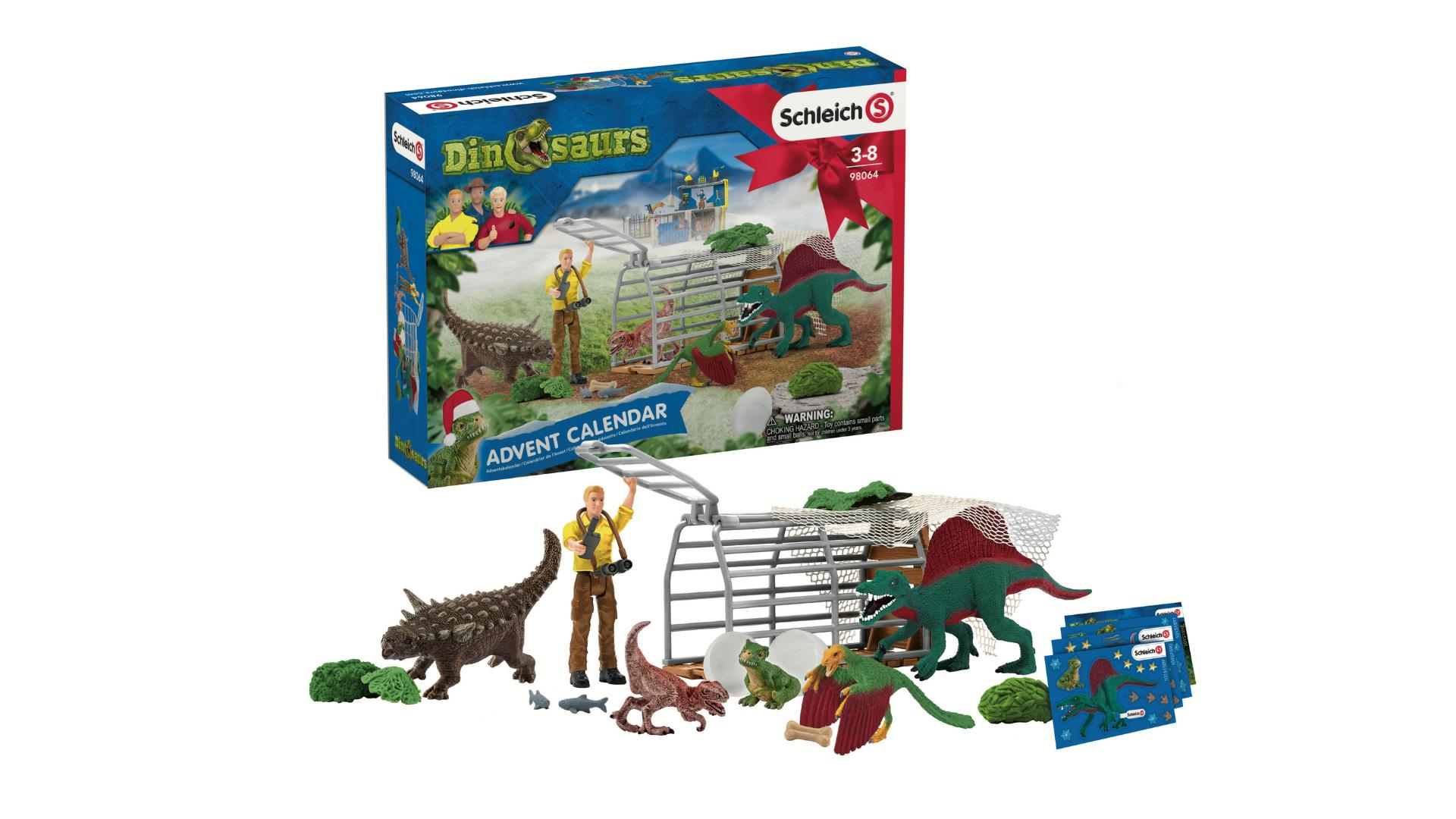 Calendrier de l'avent pour dinosaures Schleich 2021