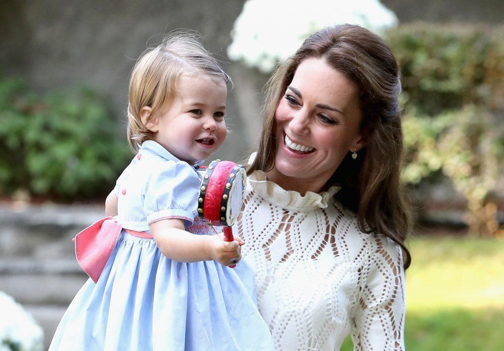 La princesse Charlotte et Kate Middleton