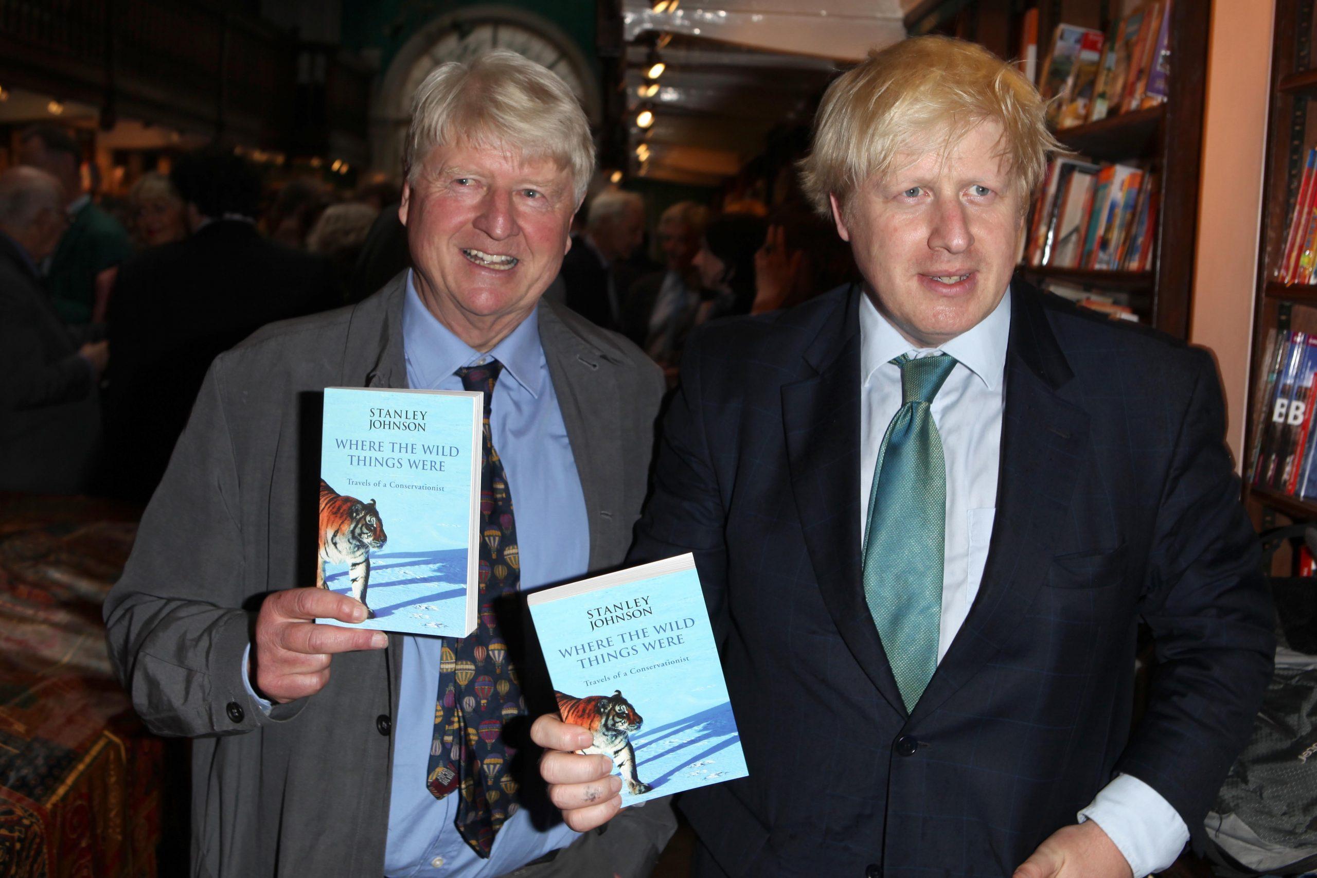 Boris Johnson et Stanley Johnson