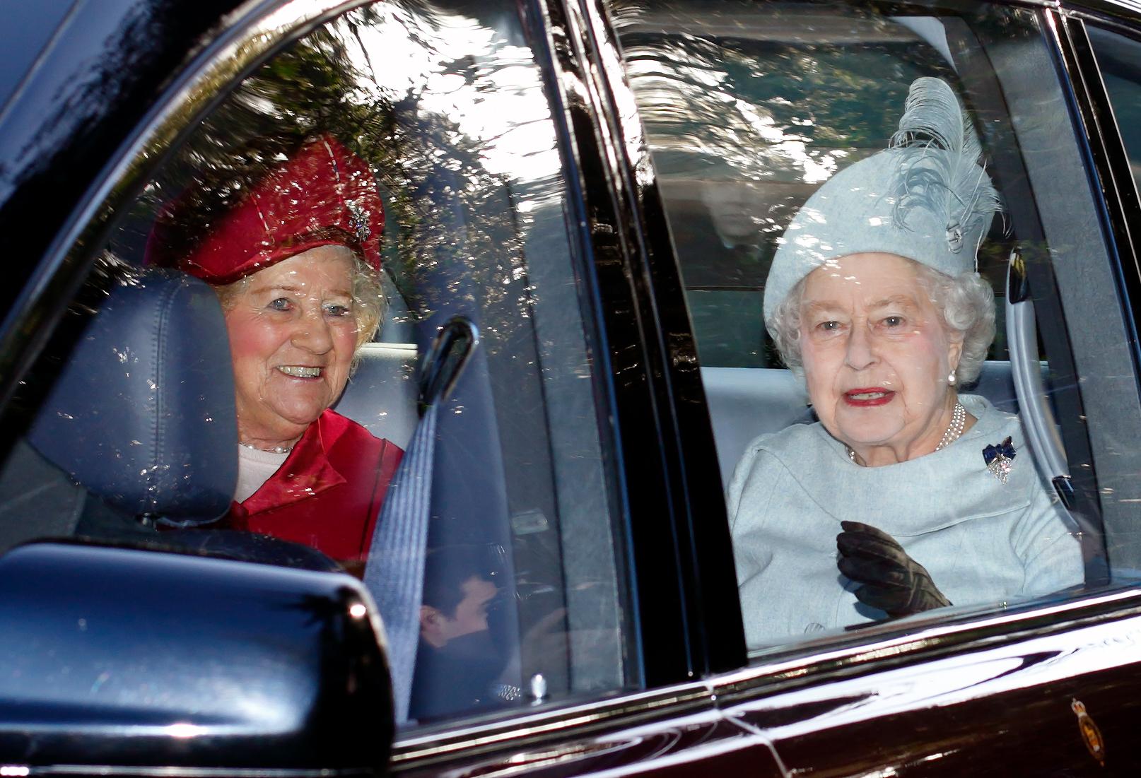 Lady Mary Colman et la Reine
