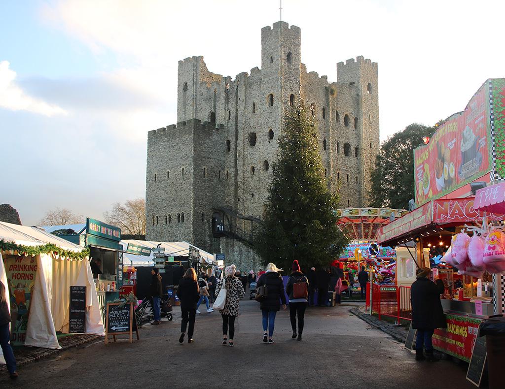 Les meilleurs marchés de Noël du Royaume-Uni - Marché de Noël de Rochester 2021