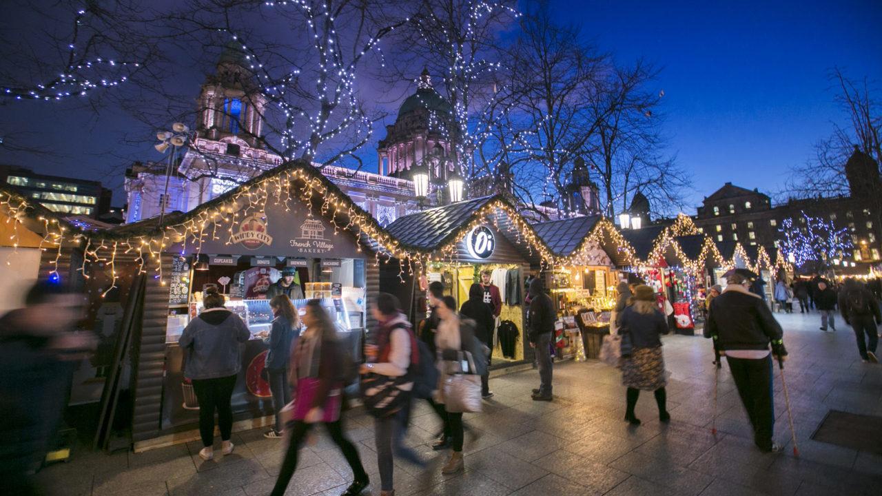 Les meilleurs marchés de Noël du Royaume-Uni - Belfast