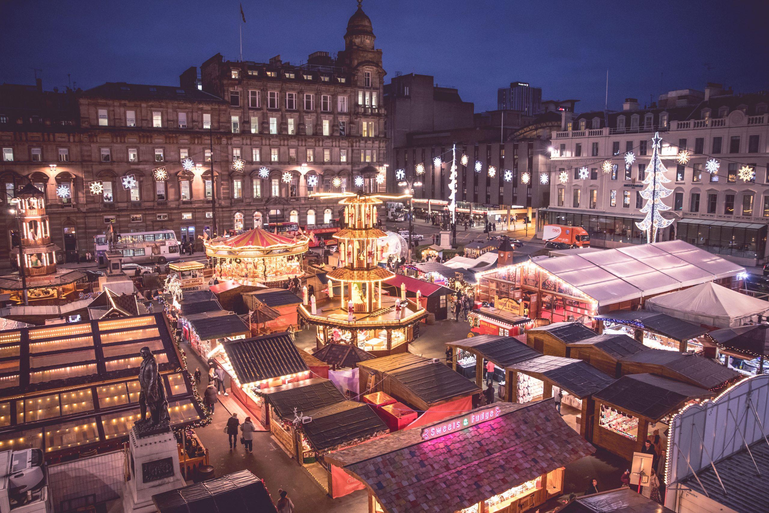 Les meilleurs marchés de Noël du Royaume-Uni - Glasgow