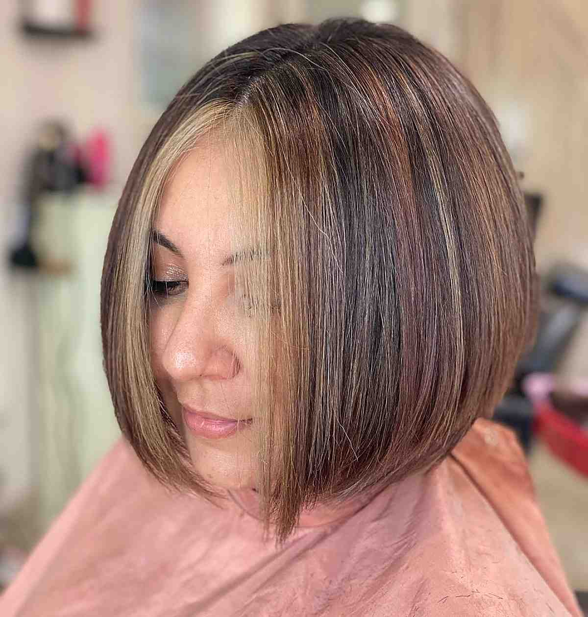 Pièce d'argent pour cheveux courts