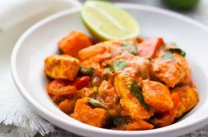 Recette de poulet tikka masala à faible teneur en calories