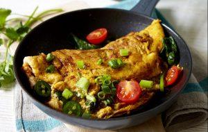 recette d'omelette masala