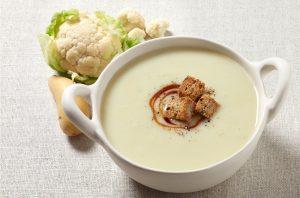 Recette de la soupe au chou-fleur de Gordon Ransay
