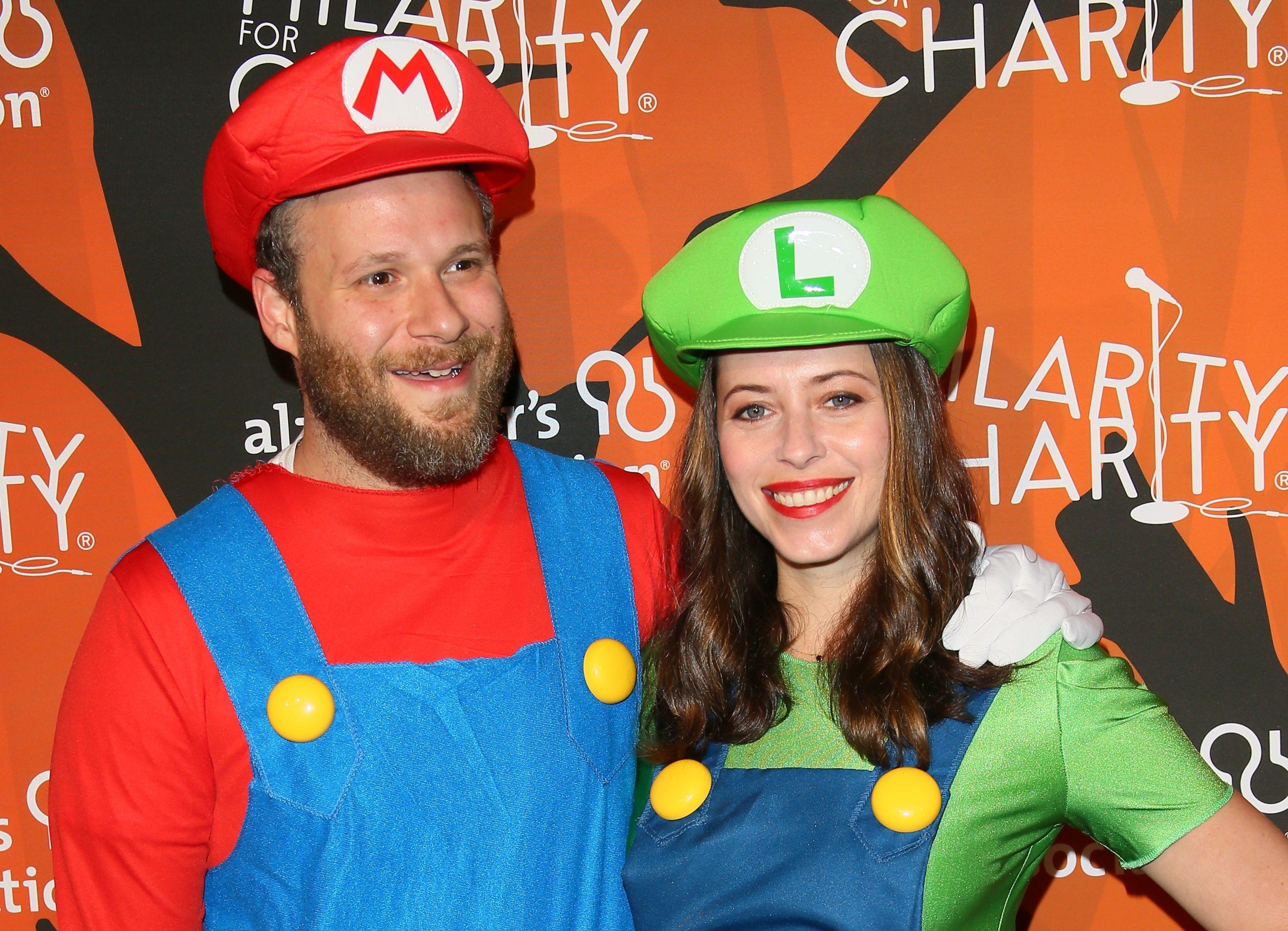 Seth Rogen et sa femme dans un costume de couple pour Halloween