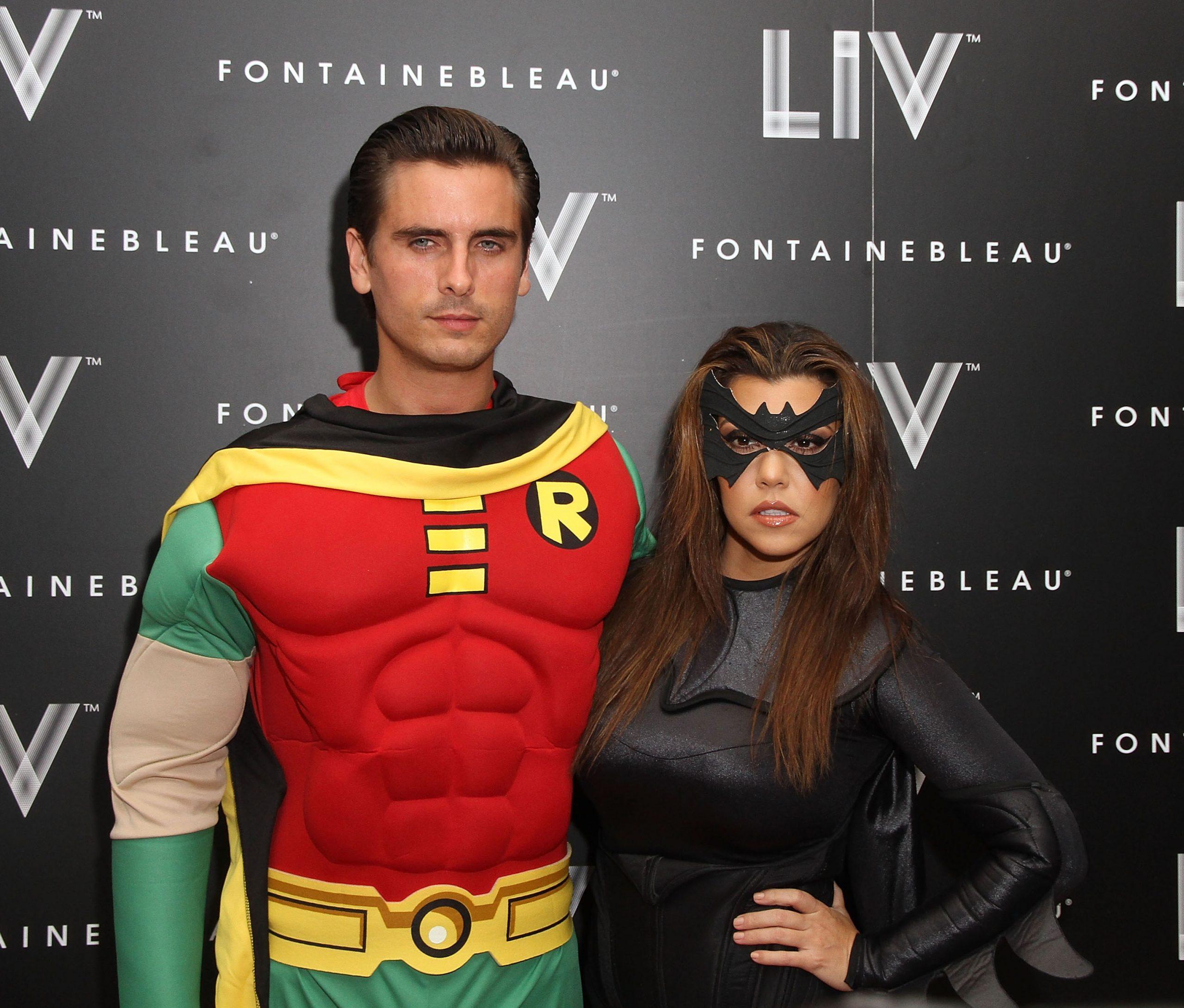 Costumes de couple Batman et Robin pour Halloween