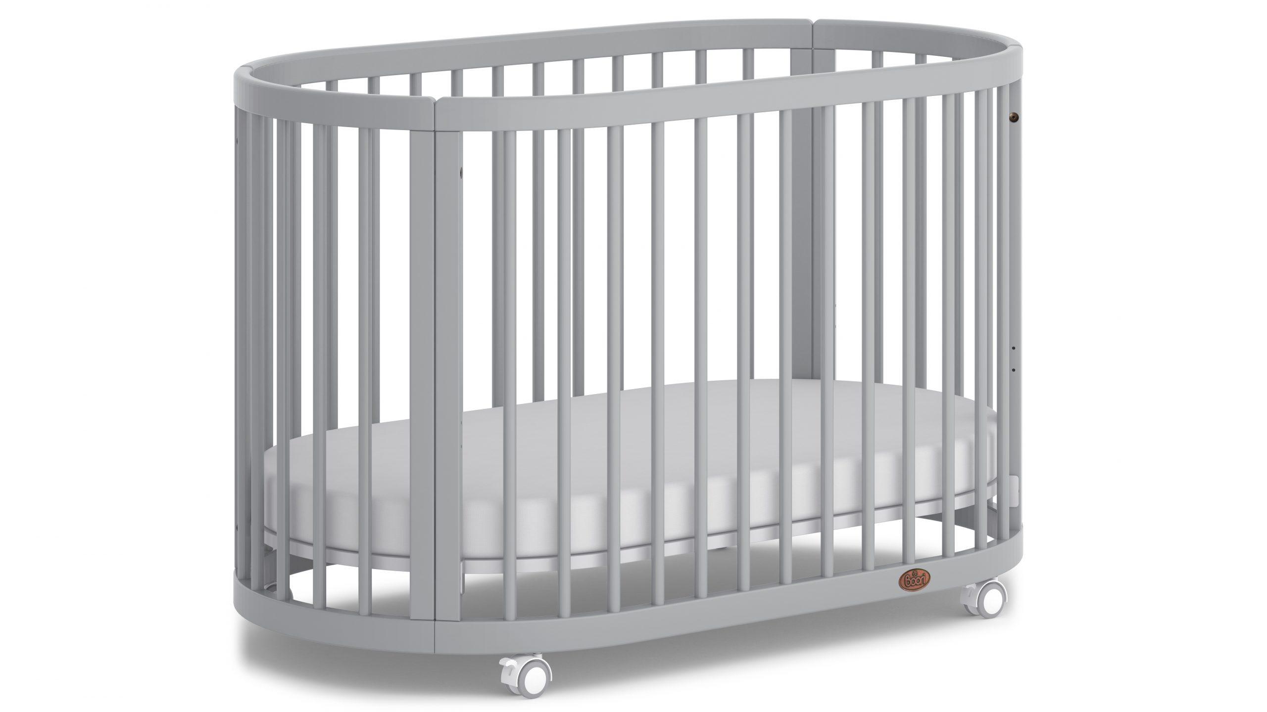 Lit bébé ovale Boori Oasis